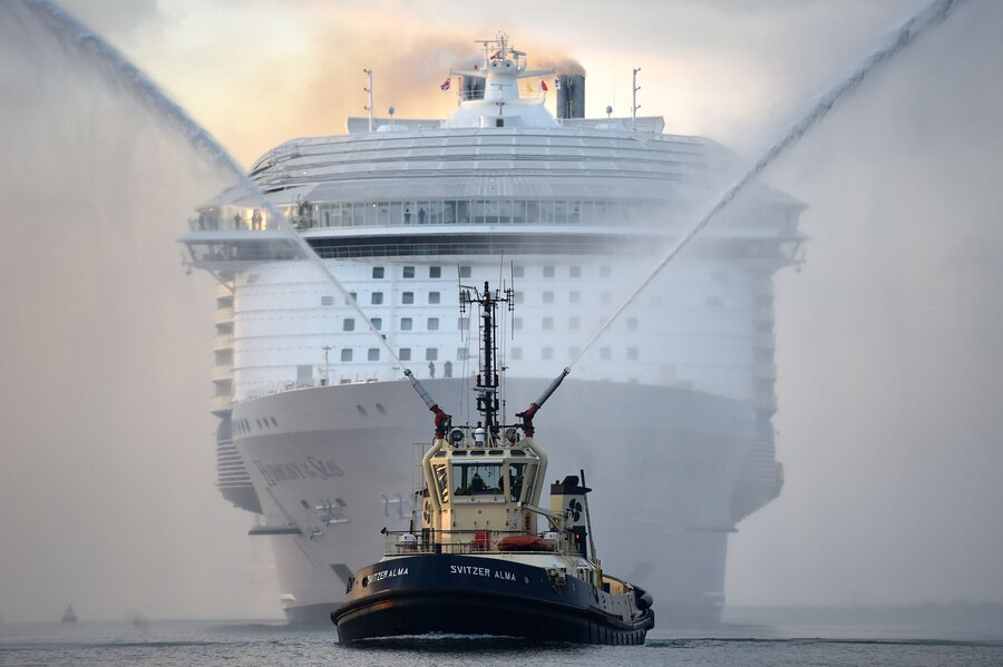 Cruise Ship Damages Pristine Coral Reef How Big An Impact Do - Christian cruise ships