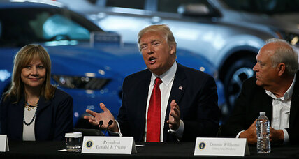 Trump mileage policy could put carmaker innovation at risk