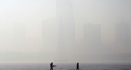 How melting Arctic sea ice is keeping smog over China