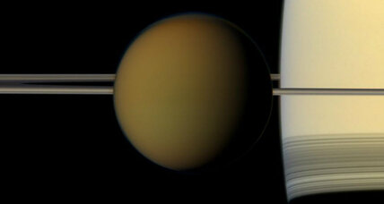 Titan's 'magic islands' may actually be fizzy nitrogen bubbles