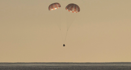 Loaded with science, SpaceX Dragon capsule splashes back to Earth