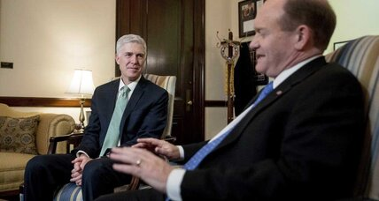 In Gorsuch hearings, questions of religious liberty and the law
