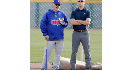 Who's the greatest leader in the world? Chicago Cubs's Theo Epstein