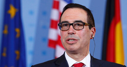 Will US workers lose jobs to robots? Mnuchin says no, report says yes