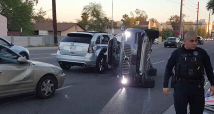 Self-driving Uber tests on hold after Arizona crash