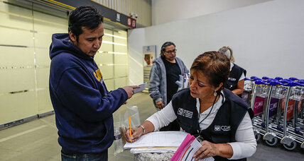 As deportees return home, Mexico City warms up its welcome