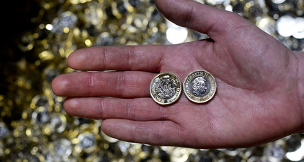 Britain's Royal Mint introduces 12-edged pound coin