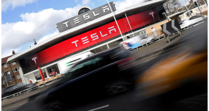 Chinese company Tencent picks up five percent of Tesla