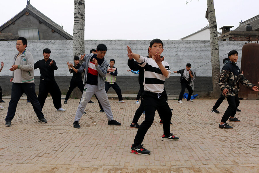 A Tai Chi sweep? China bids for UNESCO cultural heritage status.