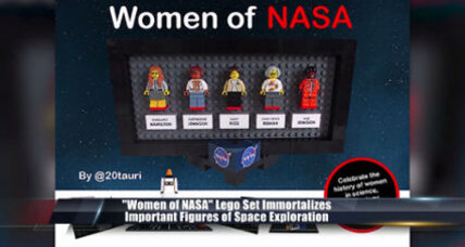 Lego blasts off with new set to honor 'Women of NASA'