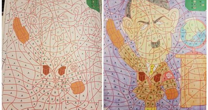 Dutch stores pull children's coloring book after discovering Hitler image within its pages