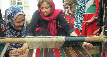 Afghan activist wins award for work on job creation, women's participation