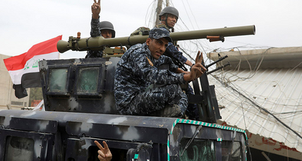ISIS weakens: most of the territory it took over in Iraq has been secured by Iraqi forces