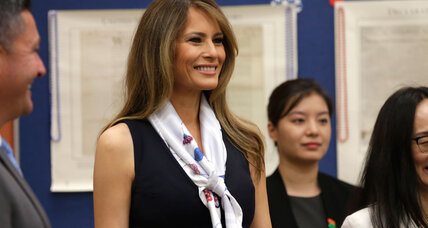 Melania Trump wins settlement from Daily Mail over libel claim
