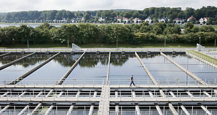 From waste to energy: Danish plant maximizes the power of wastewater