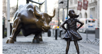 Can the 'Charging Bull' sculptor control his artwork's meaning?