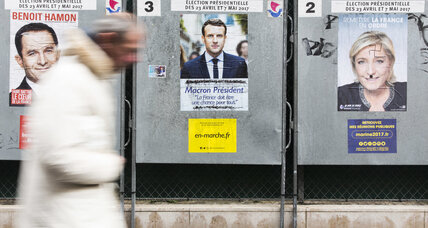 Presidency up for grabs, French candidates mount last campaign push