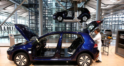 Volkswagen to roll out an electric car in China. Can it help reduce the smog?