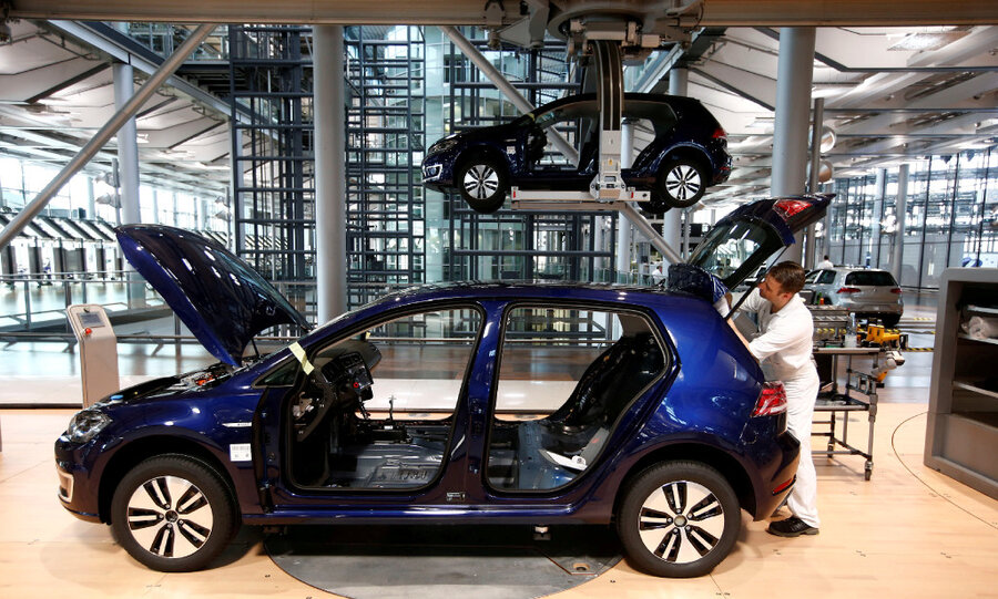 Volkswagen To Roll Out An Electric Car In China Can It Help