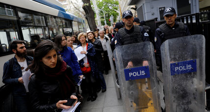 Turkey referendum vote skewed, says European Commission
