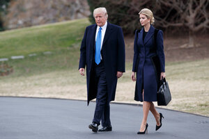 With new trademarks, Ivanka Trump's business grows alongside political  influence - CSMonitor.com