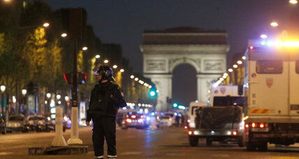 Shooting incident rattles Paris as election nears