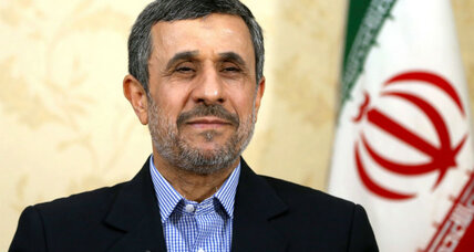Ahmadinejad disqualified from Iranian presidential election