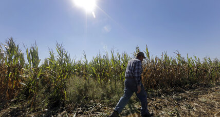 When climate change was part of the farm bill