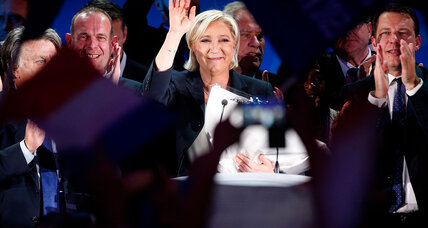 Le Pen, Macron advance to runoff in French election