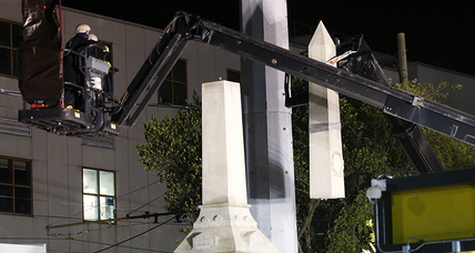 Why is New Orleans dismantling Confederate statues?