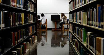 As colleges ditch books, the future of the campus library is changing