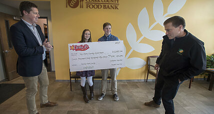 Teen siblings raise nearly $110,000 to fight hunger in Washington State