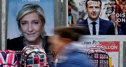 A middle way forward for a divided France? Macron voters hope so.