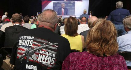 As Trump addresses NRA, some gun owners concerned about going too far