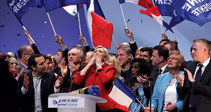 Is anyone mightier than Le Pen?