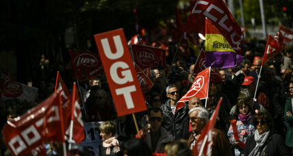 Protesters rally for worker's rights across the world for May Day