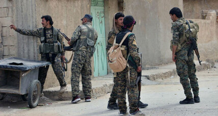 Islamic State fighters pushed out of old portion of strategically important Tabqa