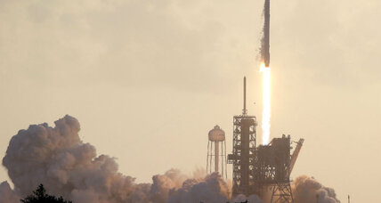SpaceX launches classified spy satellite for US Department of Defense