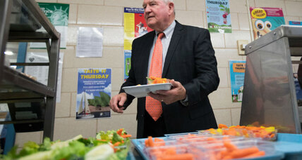 USDA secretary announces halt on school nutrition standards