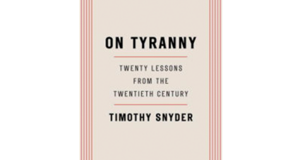 'On Tyranny' suggests many simple actions can foster civil society