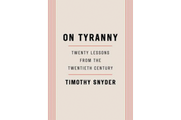 On Tyranny Suggests Many Simple Actions Can Foster Civil Society
