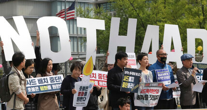 South Korea divided on THAAD missile defense system