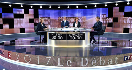 'Fake news' makes headlines in French presidential campaign days before the election