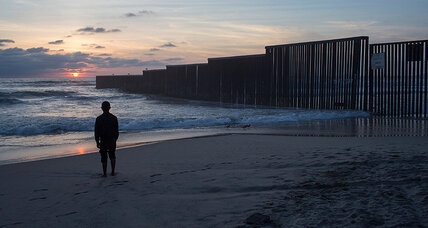 At border's edge, open-water marathoners swim for migrant aid