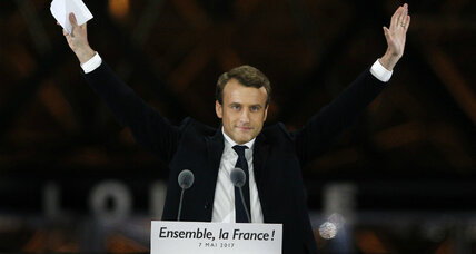 Emmanuel Macron: The man who is 'not Le Pen' – and now president of France