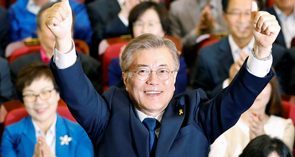 Exit polls forecast liberal Moon winning in South Korea