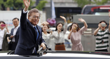 Can South Korea's Moon heal the public distrust that fueled his victory?