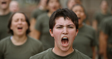 Marine ad puts focus on a new kind of recruit: women