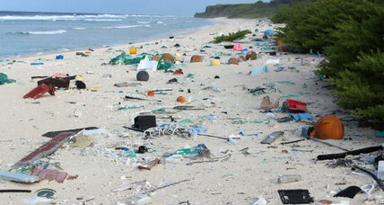 Scientists discover unexpectedly dense layer of trash on an uninhabited island