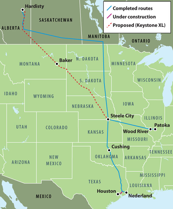 What's next for the Keystone XL pipeline? - CSMonitor.com on keystone pipeline contractors, keystone pipeline map us, new keystone pipeline revised map, arctic pipeline map, northern gateway pipeline map, middle east map, bakken pipeline map, nexus gas transmission pipeline map, keystone pipeline map ok, keystone pipeline project, et rover pipeline map, enbridge pipeline map, ogallala aquifer map, sandpiper pipeline map, barack obama map, ohio pipeline map, petroleum pipeline map, alaska pipeline map, strategic relocation north american map, north american pipeline map,